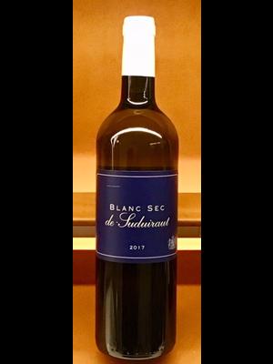 Wine LE BLANC SEC DU SUDUIRAUT 2017