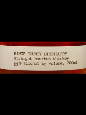 Spirits KINGS COUNTY DISTILLERY BOURBON WHISKEY 200ML