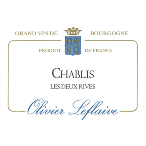 Wine OLIVIER LEFLAIVE CHABLIS 'LES DEUX RIVES' 2015