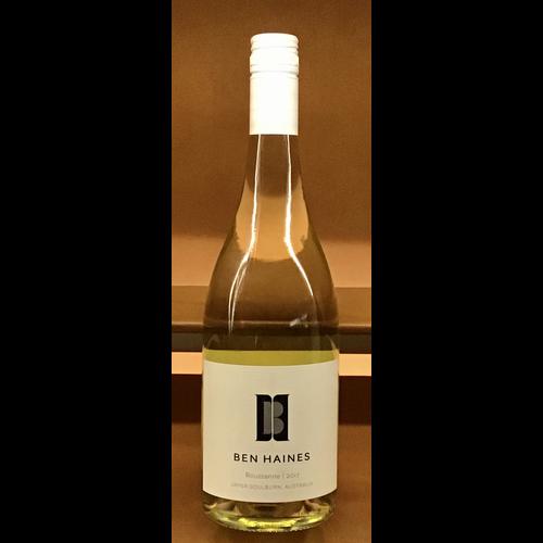 Wine BEN HAINES ROUSSANNE 2017