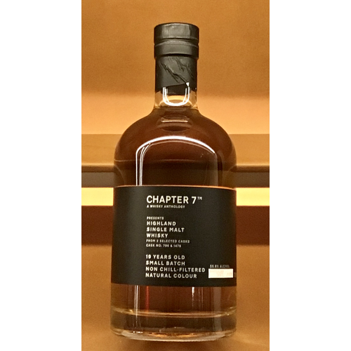 Spirits CHAPTER 7 HIGHLAND SINGLE MALT SCOTCH WHISKY 19 YEARS OLD