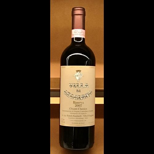 Wine VILLA DE GEGGIANO CHIANTI CLASSICO RESERVA 2007