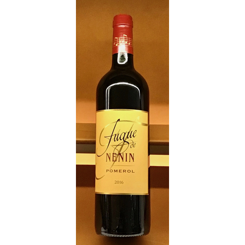 Wine CHATEAU FUGUE DE NENIN POMEROL 2015