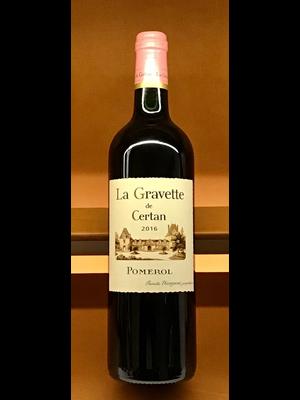 Wine VIEUX CHATEAU CERTAN 'LA GRAVETTE DE CERTAN' 2016