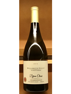 Wine WILLAMETTE VALLEY VINEYARDS 'DIJON CLONE' CHARDONNAY 2016