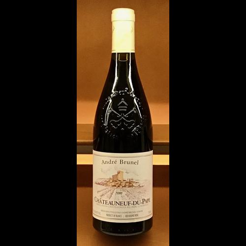 Wine ANDRE BRUNEL CHATEAUNEUF-DU-PAPE 2016