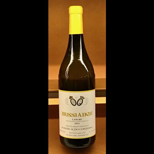 Wine PODERE ALDO CONTERNO 'BUSSIADOR' CHARDONNAY 2016