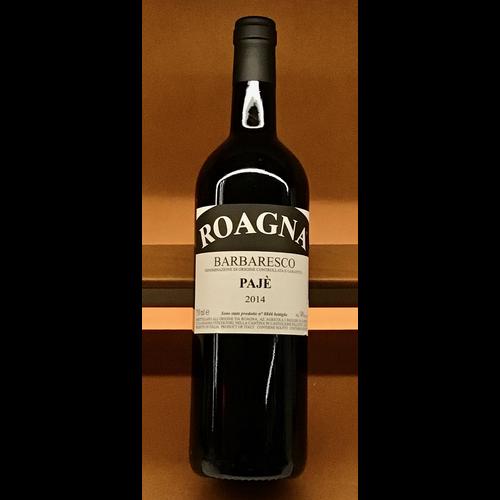 Wine ROAGNA BARBARESCO 'PAJE' 2014