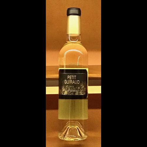 Wine CHATEAU GUIRAUD 'PETIT GUIRAUD' SAUTERNES 2016 375ML