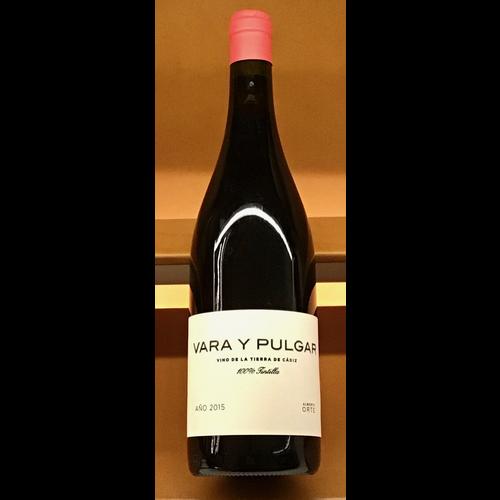 Wine VARA Y PULGAR TINTILLA 2015