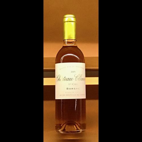 Wine CHATEAU CLIMENS BARSAC 1ER CRU 2005 375ml