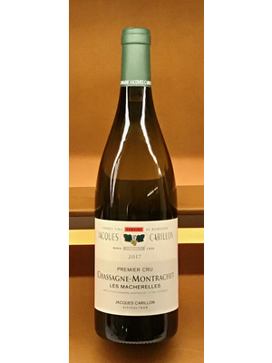 Wine JACQUES CARILLON 'LES MACHARELLES' 1ER CRU CHASSAGNE-MONTRACHET 2017