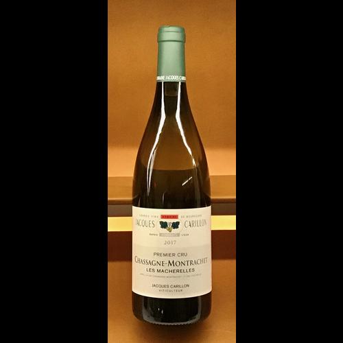 Wine JACQUES CARILLON 'LES MACHARELLES' 1ER CRU CHASSAGNE-MONTRACHET 2017