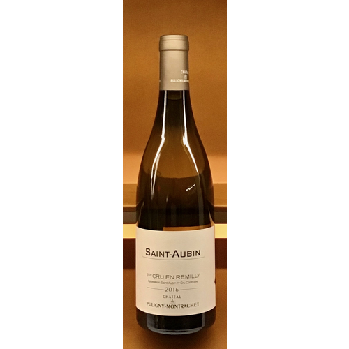 Wine CHATEAU DE PULIGNY-MONTRACHET SAINT-AUBIN 'EN REMILLY' 1ER CRU 2016