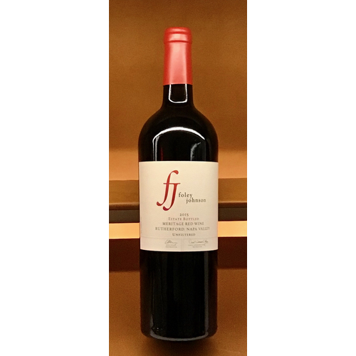Wine FOLEY JOHNSON ESTATE MERITAGE 2015