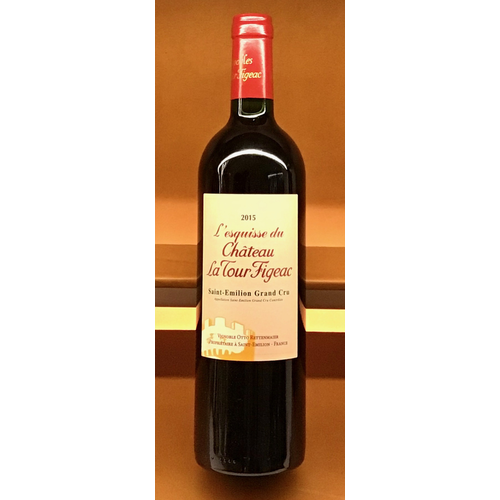 Wine CHATEAU LA TOUR FIGEAC 'L'ESQUISSE DE LA TOUR' 2015