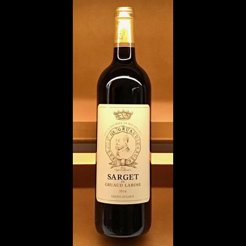 Wine CH SARGET DE GRUAUD-LAROSE 2016