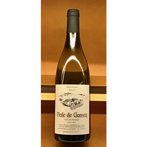 Wine CHANRION 'PERLE DE GAMAY' BLANC 2017
