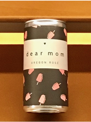 Wine DEAR MOM ROSE CANS 2017 187ML