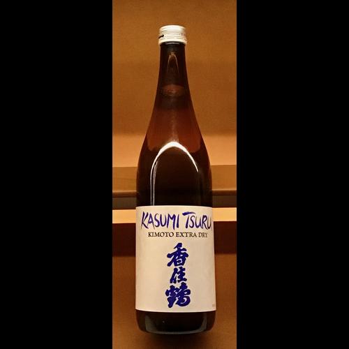 Wine KASUMI TSURU EXTRA DRY KIMOTO SAKE 720ML
