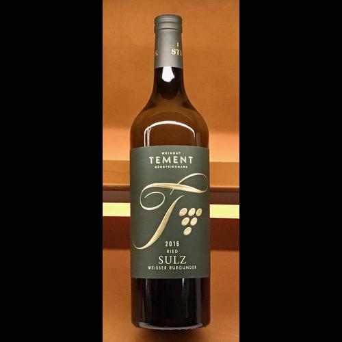 Wine TEMENT WEISSBURGUNDER PINOT SULZ LAGE STK 2016