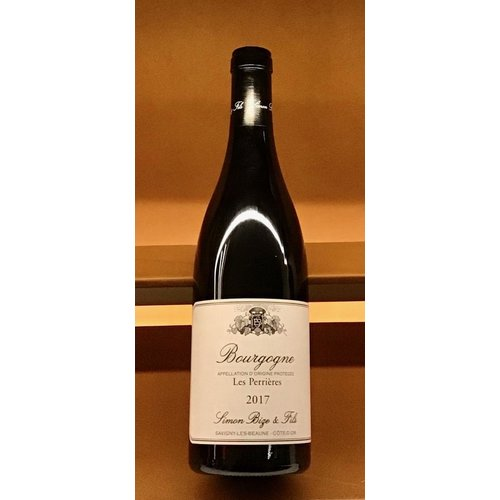 Wine SIMON BIZE 'LES PERRIERES' BOURGOGNE ROUGE 2017