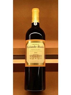 Wine CHATEAU LALANDE BORIE SAINT JULIEN 2016