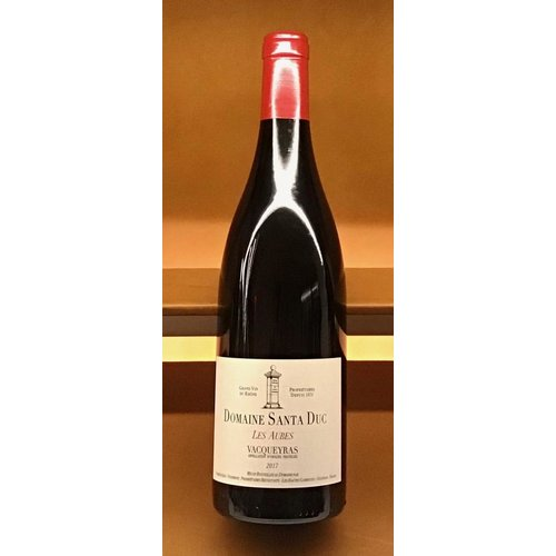 Wine SANTA DUC 'LES AUBES' VACQUEYRAS 2017