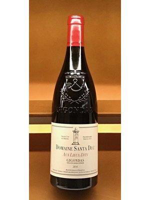 Wine SANTA DUC AUX LIEUX-DITS GIGONDAS 2017