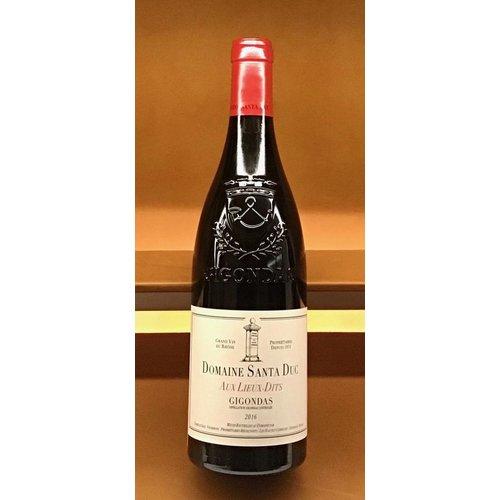 Wine SANTA DUC 'AUX LIEUX-DITS GIGONDAS 2016
