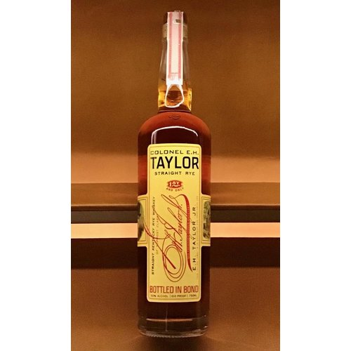 Spirits COLONEL E.H. TAYLOR STRAIGHT RYE 100 PROOF