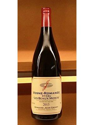 Wine JEAN GRIVOT VOSNE-ROMANEE 1ER CRU LES BEAUX MONTS 2015