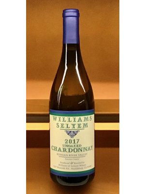 Wine WILLIAMS SELYEM UNOAKED CHARDONNAY RUSSIAN RIVER VALLEY 2017