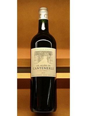 Wine LES ALLEES DE CANTEMERLE 2015