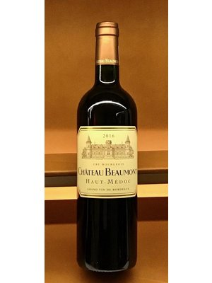 Wine CHATEAU BEAUMONT CRU BORGEOIS 2016