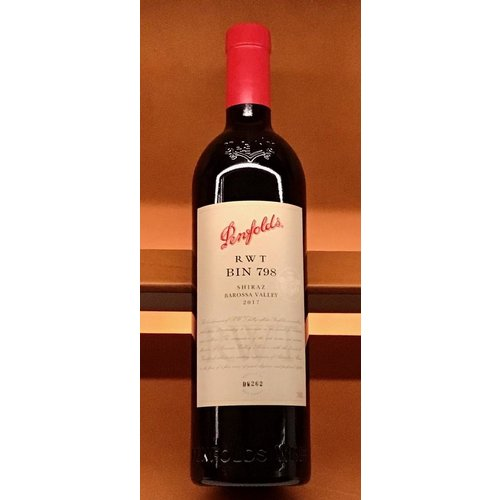 Wine PENFOLDS RWT BAROSSA VALLEY SHIRAZ 2017