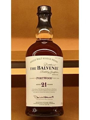 Spirits BALVENIE 'PORT WOOD' 21YR SCOTCH