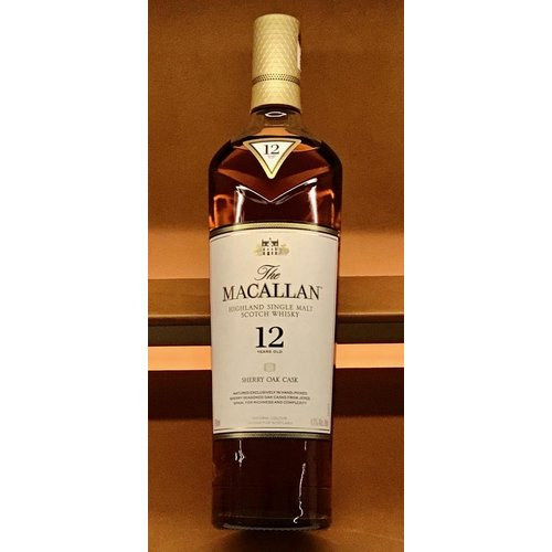 Spirits MACALLAN 12YR SCOTCH WHISKY