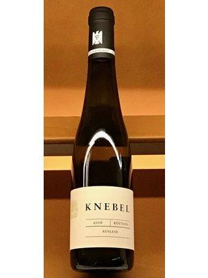 Wine KNEBEL RISELING AUSLESE ROTTGEN 2016 375ML