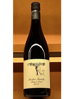 Wine BECKER ESTATE PINOT NOIR 2015