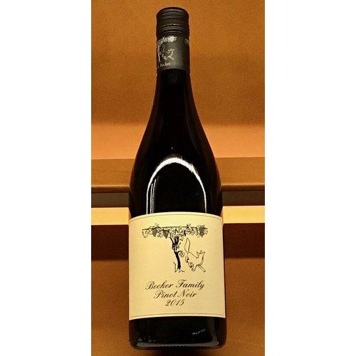 Wine BECKER ESTATE PINOT NOIR 2015