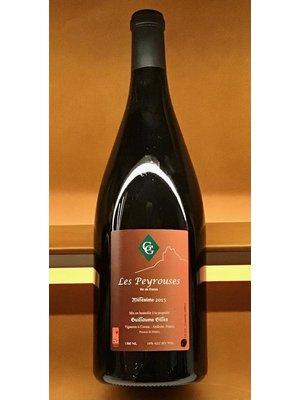 Wine GUILLAUME GILLES VIN DE FRANCE LES PEYROUSES ROUGE 2015 1.5L