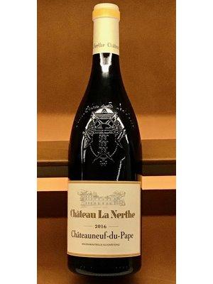 Wine CHATEAU LA NERTHE CHATEAUNEUF DU PAPE ROUGE  2016