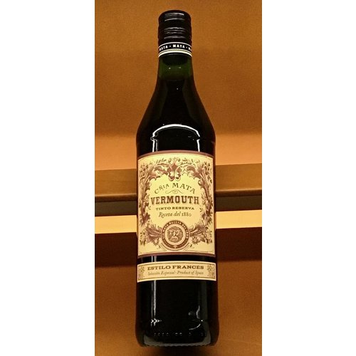 Fortified Wine MATA VERMOUTH TINTO RESERVA