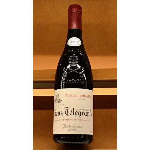 """Wine DOMAINE DU VIEUX TELEGRAPHE CHATEAUNEUF DU PAPE """"La Crau"""" 2017"""