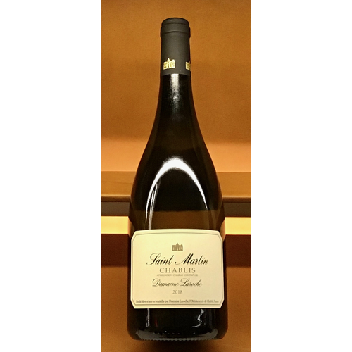 Wine DOMAINE LAROCHE 'SAINT MARTIN' CHABLIS 2018