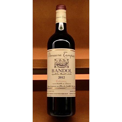 Wine DOMAINE TEMPIER BANDOL 'LA CABASSAOU' 2012