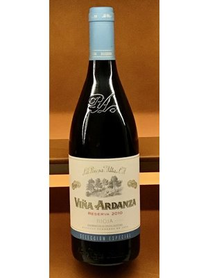 Wine LA RIOJA ALTA VINA ARDANZA RESERVA 2010