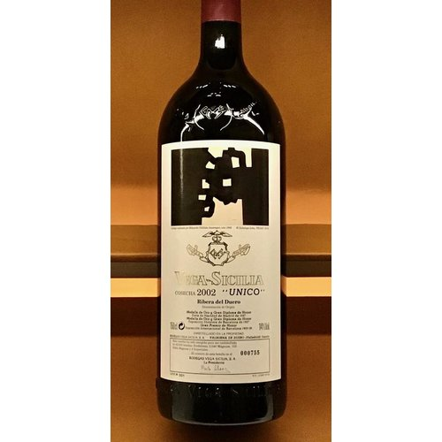 Wine VEGA SICILIA UNICO ARTIST LABEL 2002 1.5L