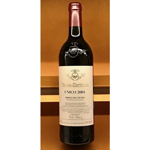 Wine VEGA SICILIA 'UNICO' 2004